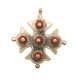 Cracow jewelry, coral cross